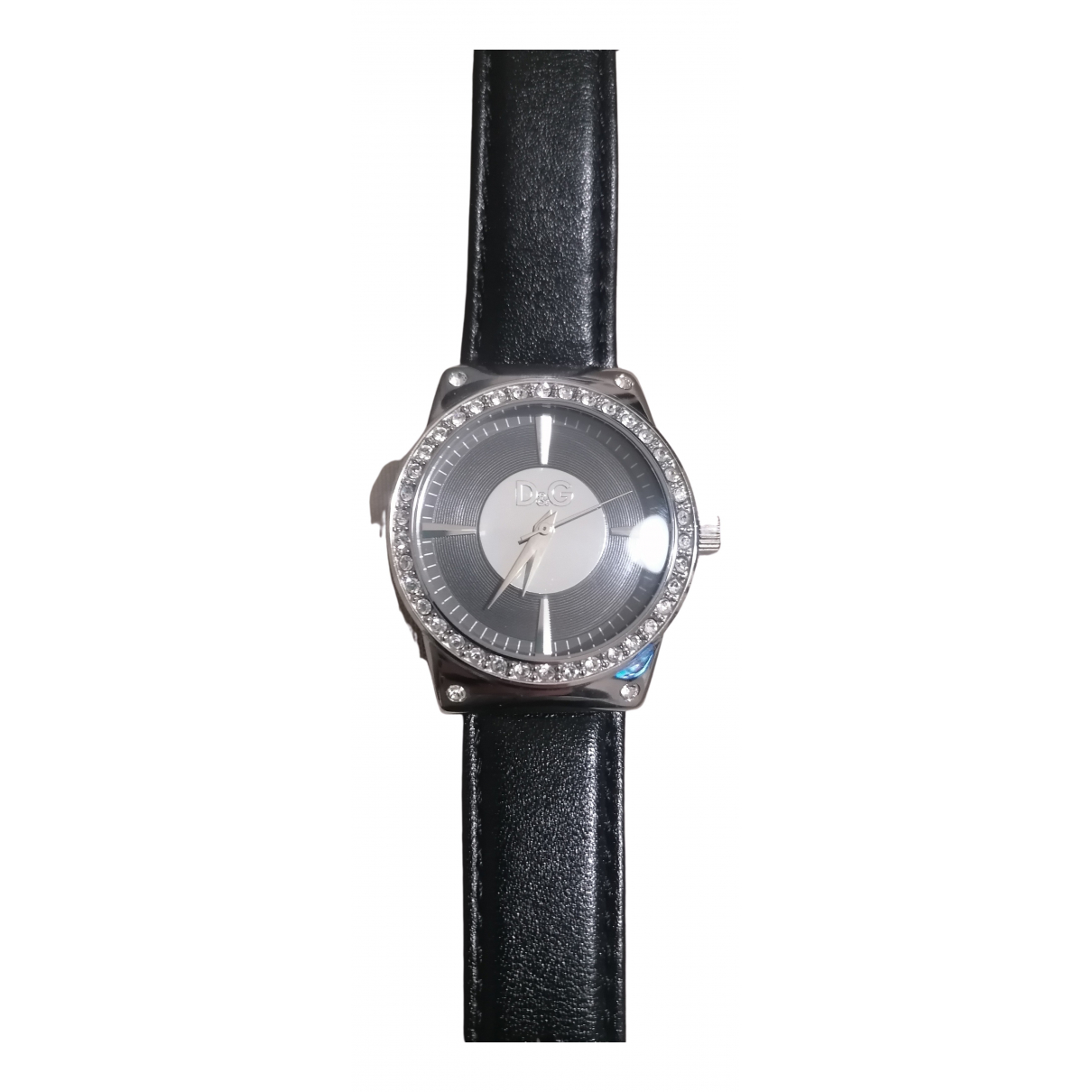 D&g \N Uhr in  Schwarz Stahl