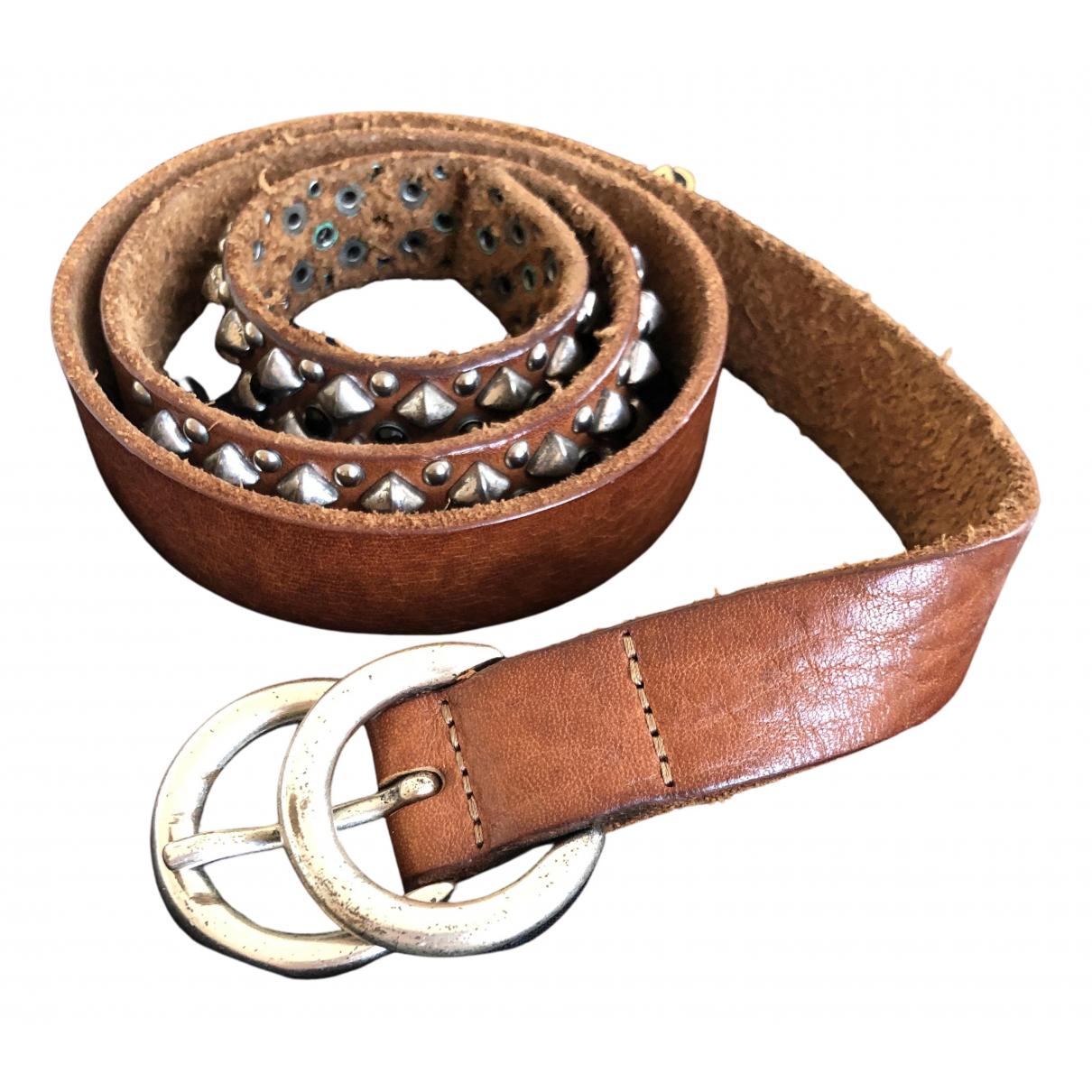 Cinturon de Cuero Maje