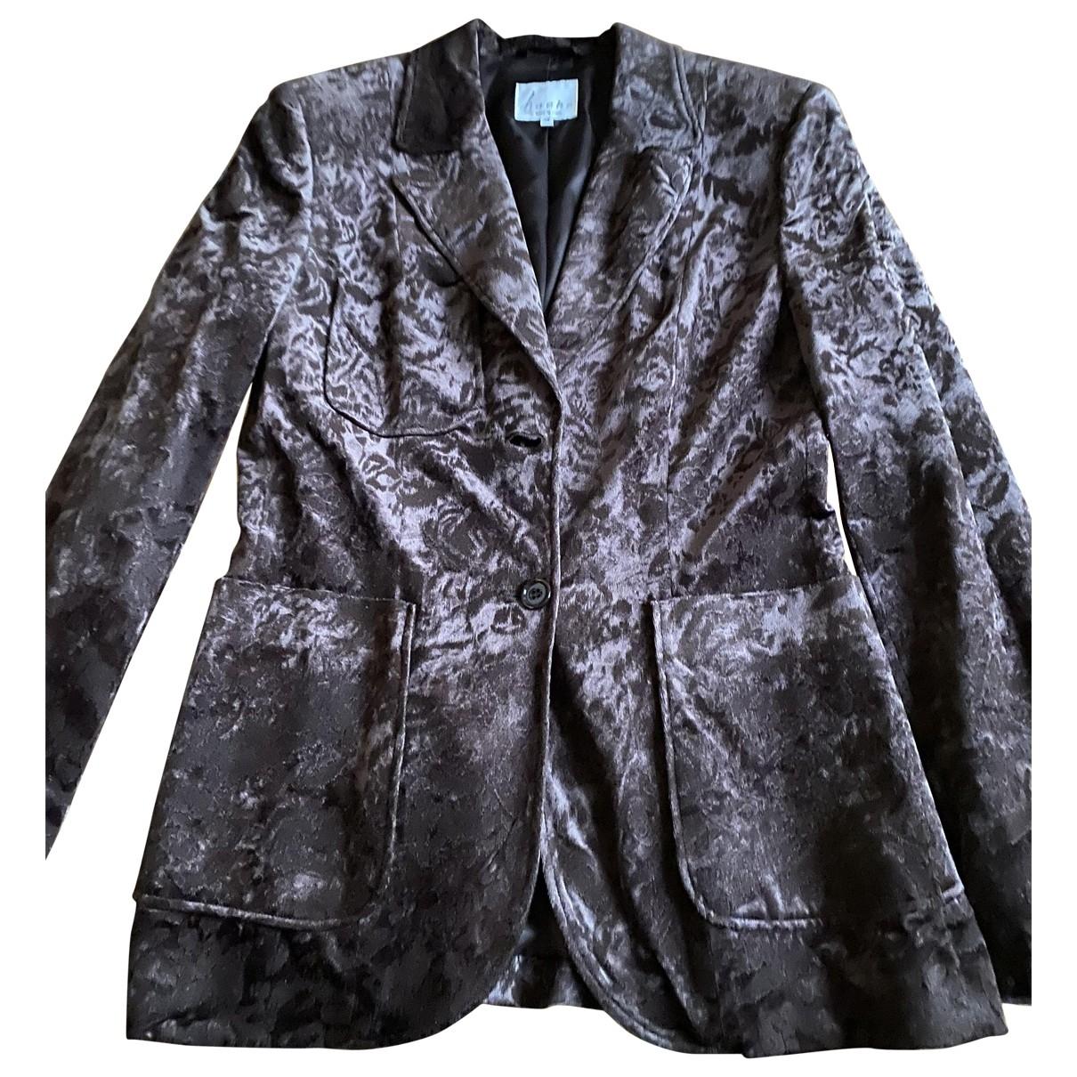 Hache \N Brown jacket for Women 42 IT