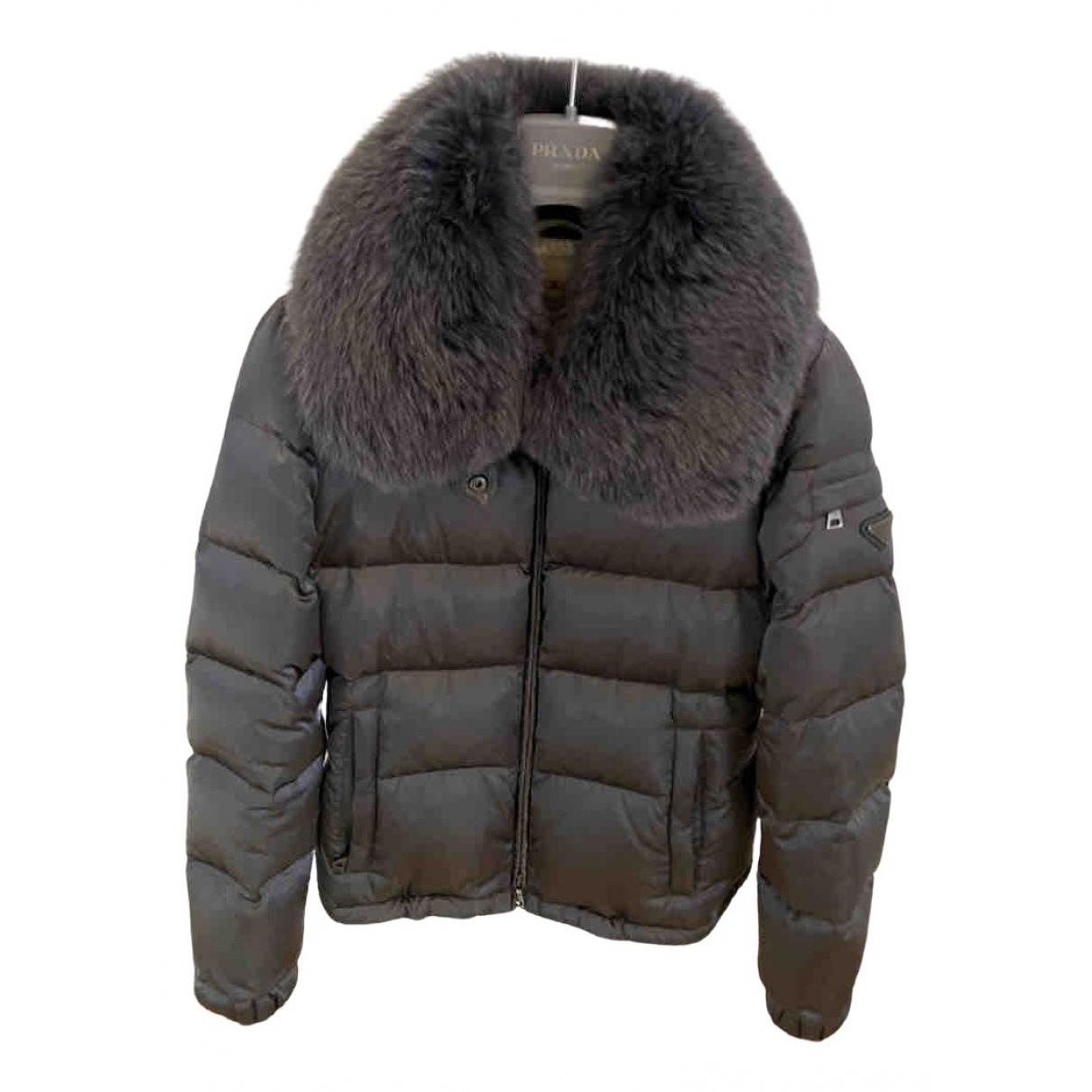 Prada \N Grey Fur jacket for Women 38 IT