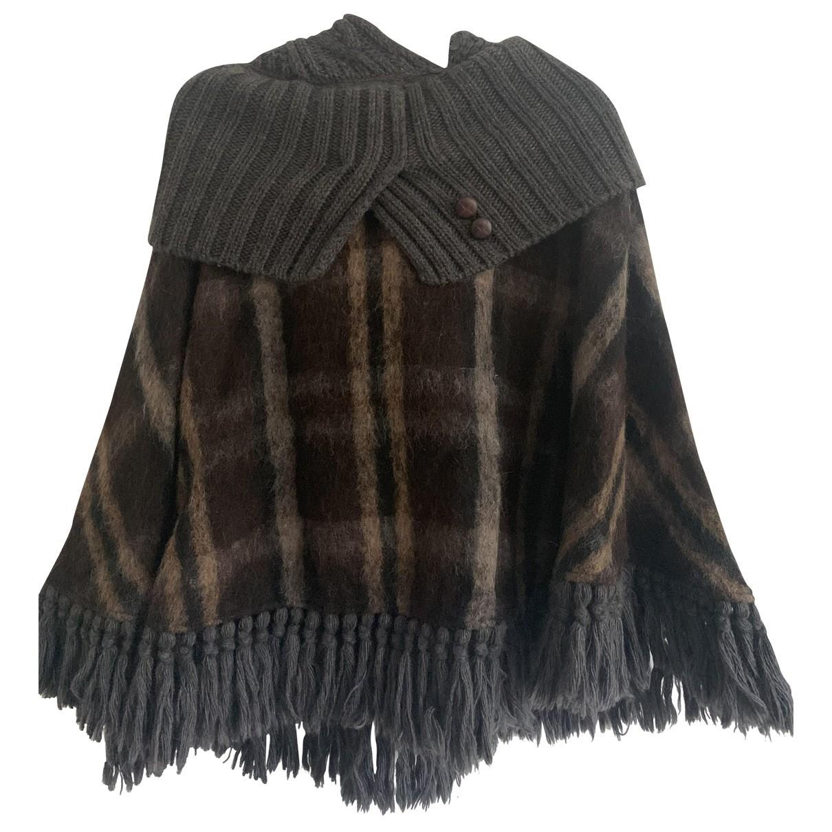 Max & Co - Manteau   pour femme en laine - multicolore