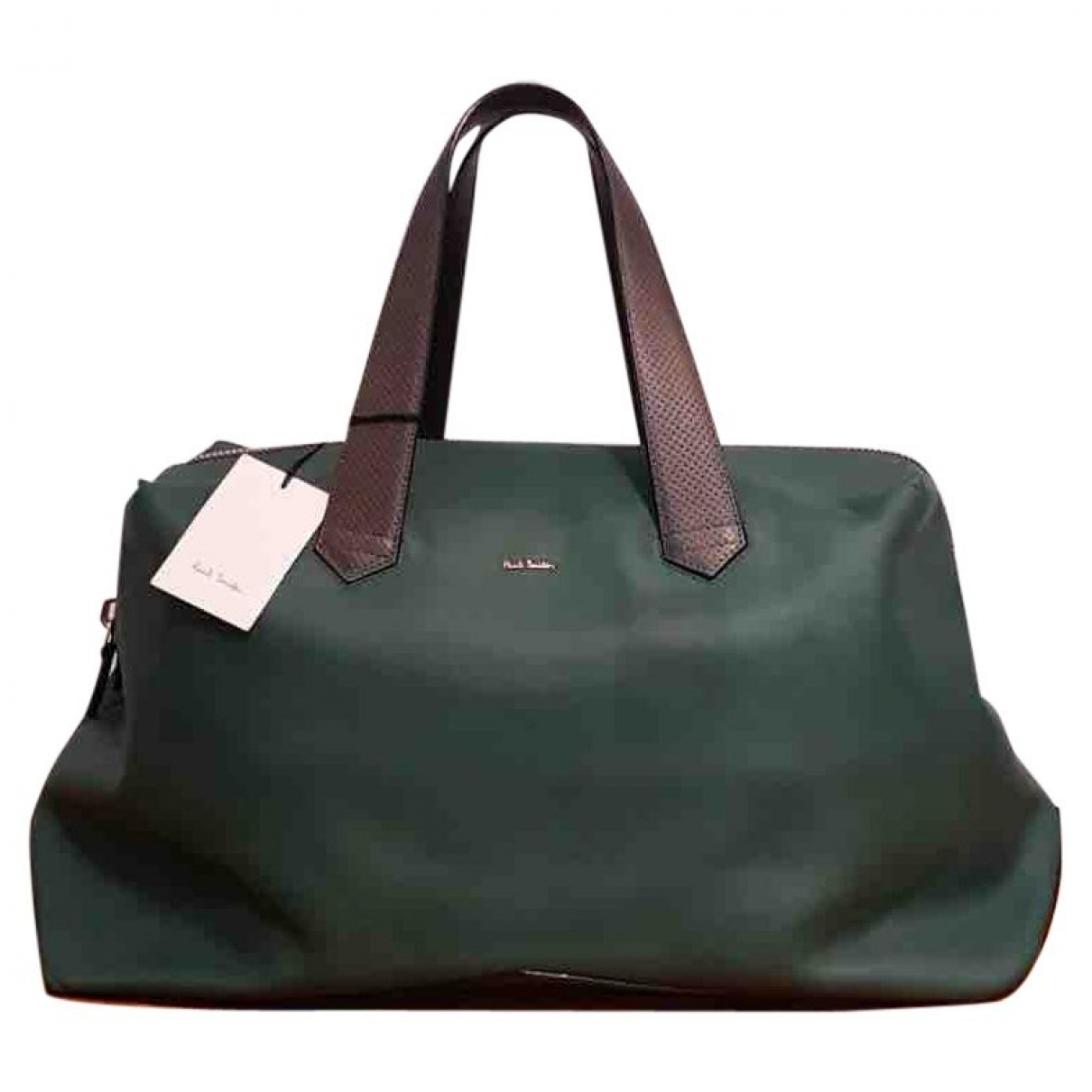 Paul Smith \N Green Leather Travel bag for Women \N