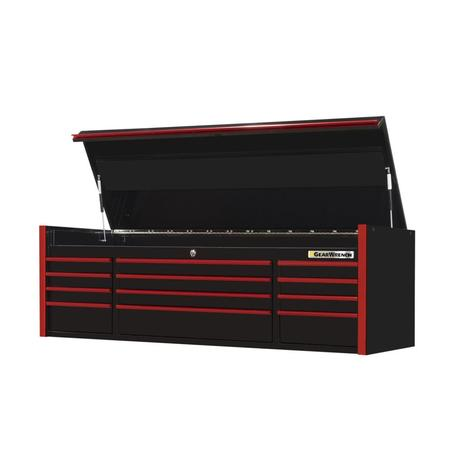 GearWrench Top Chest, 72 In. 12-Drawer Extreme Tools® Series, Black & Red