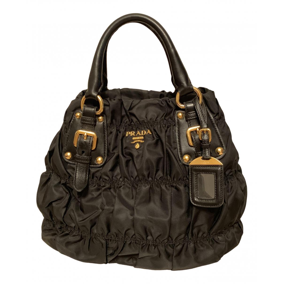 Prada Tessuto  Black handbag for Women \N