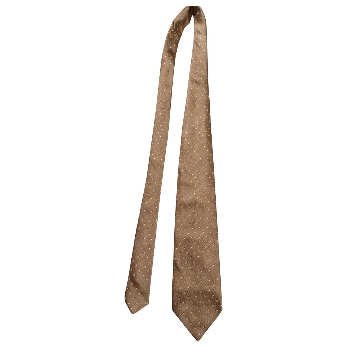 Faconnable \N Krawatten in  Gold Seide