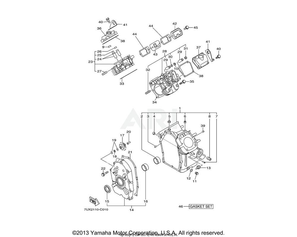Yamaha OEM YA0-56510-00-50 CLIP