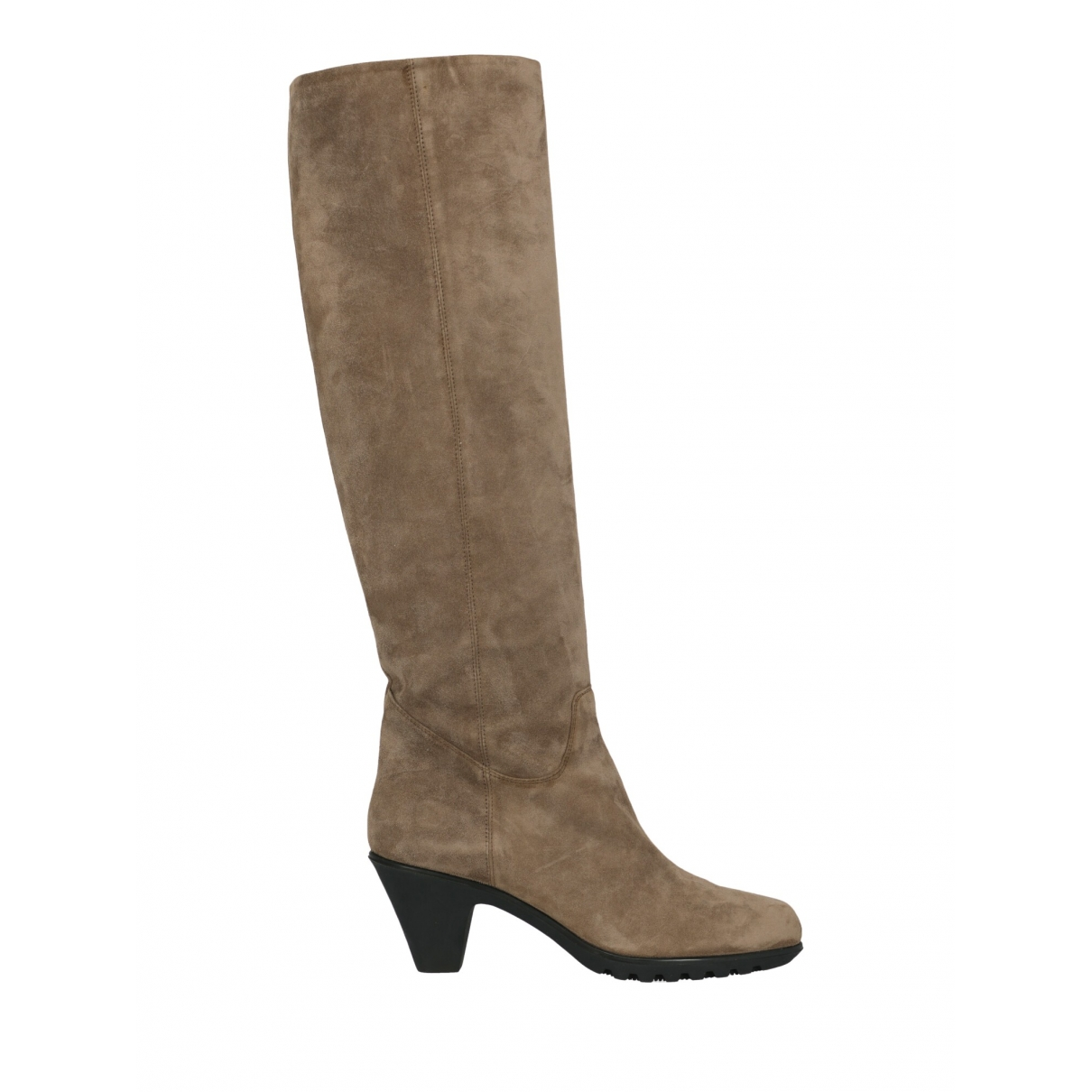 Hogan \N Brown Leather Boots for Women 41 IT