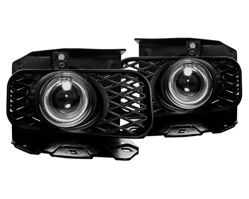 Winjet WJ30-0100-09 Clear Halo Projector Fog Light Ford Expedition 99-02