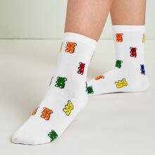 Weiss Cartoons  Laessig Socken