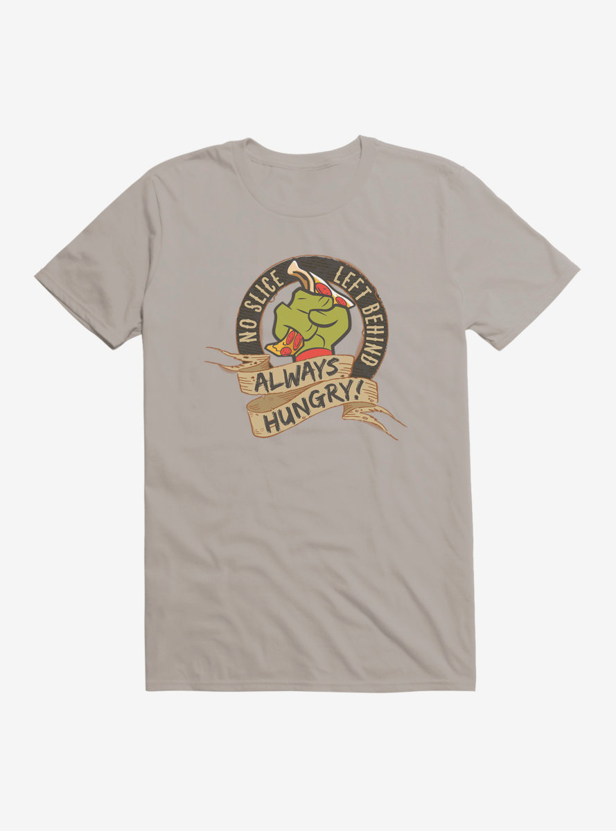 Teenage Mutant Ninja Turtles Always Hungry Banner T-Shirt
