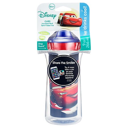 The First Years Disney/Pixar Cars Insulated Hard Spout Sippy Cup - 9.0 oz