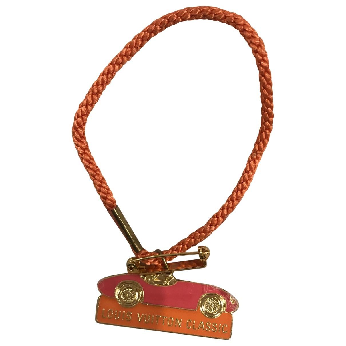 Louis Vuitton - Bracelet Keep It pour femme en toile - orange