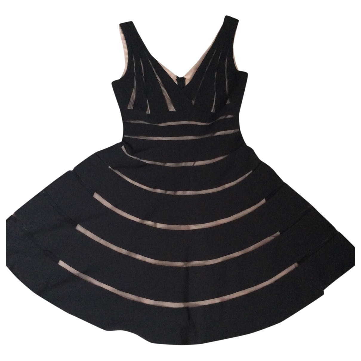 Js Collections \N Kleid in  Schwarz Polyester