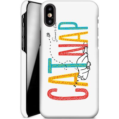 Apple iPhone X Smartphone Huelle - Catnap von Simons Cat