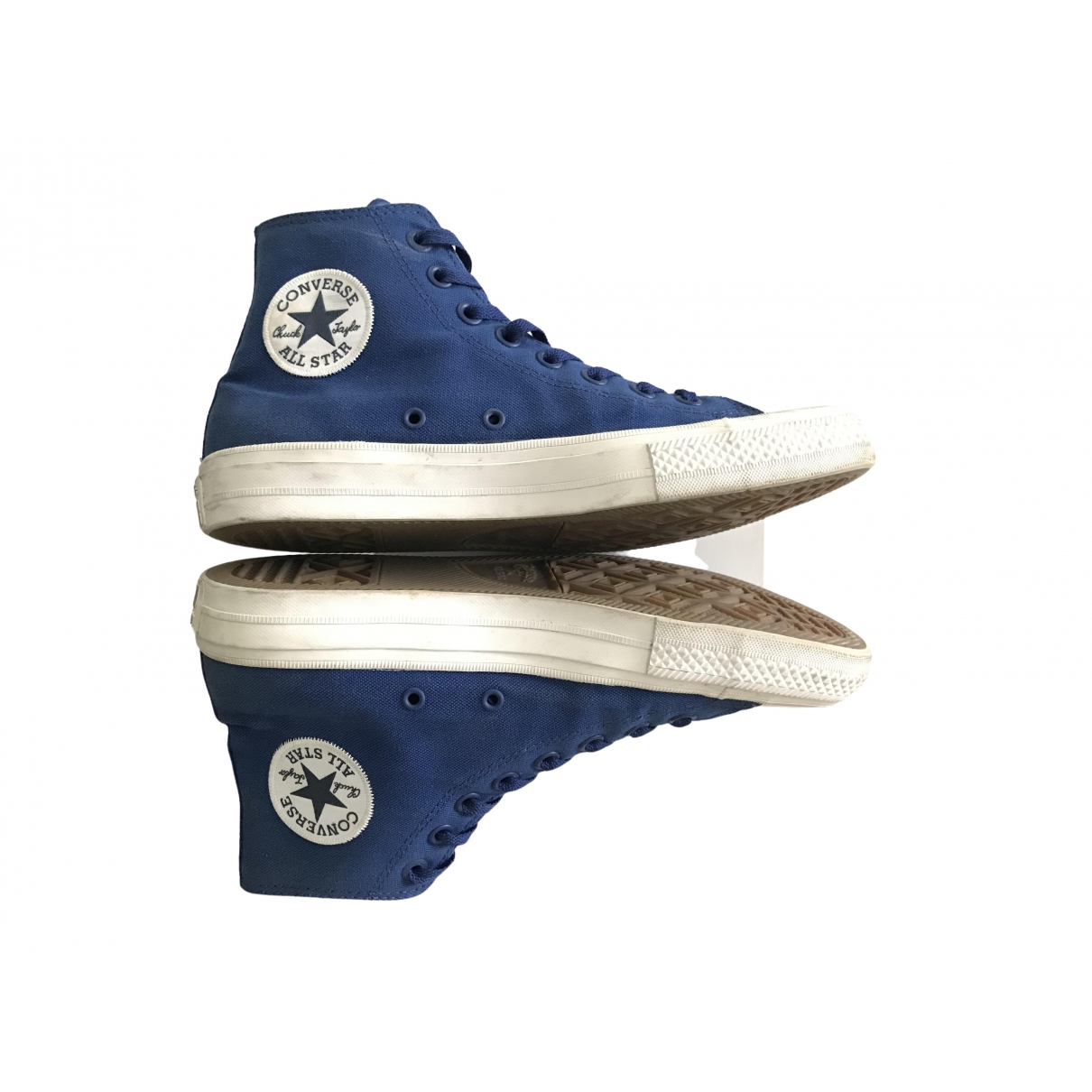 Converse \N Blue Cloth Trainers for Men 41 EU