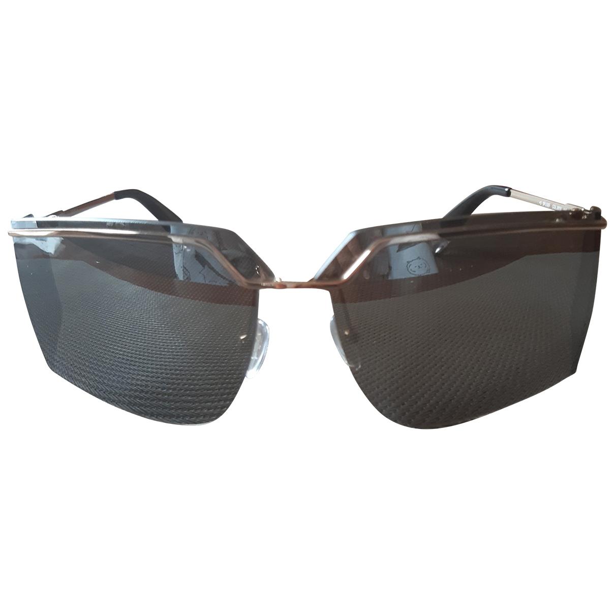 Furla \N Gold Metal Sunglasses for Women \N