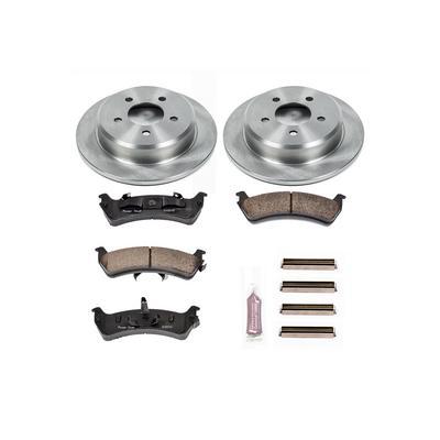 Power Stop 1-Click OE Replacement Rear Brake Kits - KOE1858