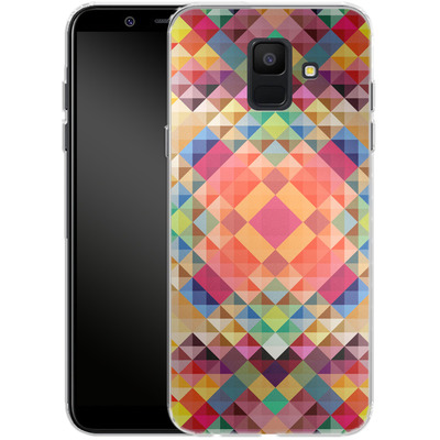 Samsung Galaxy A6 Silikon Handyhuelle - We Color von Danny Ivan