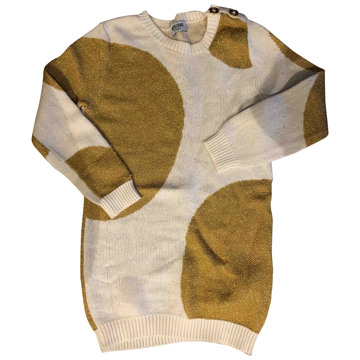 Moschino \N Beige dress for Kids 18 months - up to 81cm FR