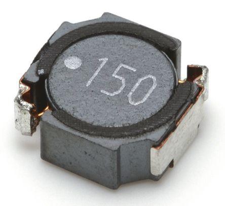 TDK Shielded Wire-wound SMD Inductor 10 μH ±20% Wire-Wound 3.8A Idc (5)