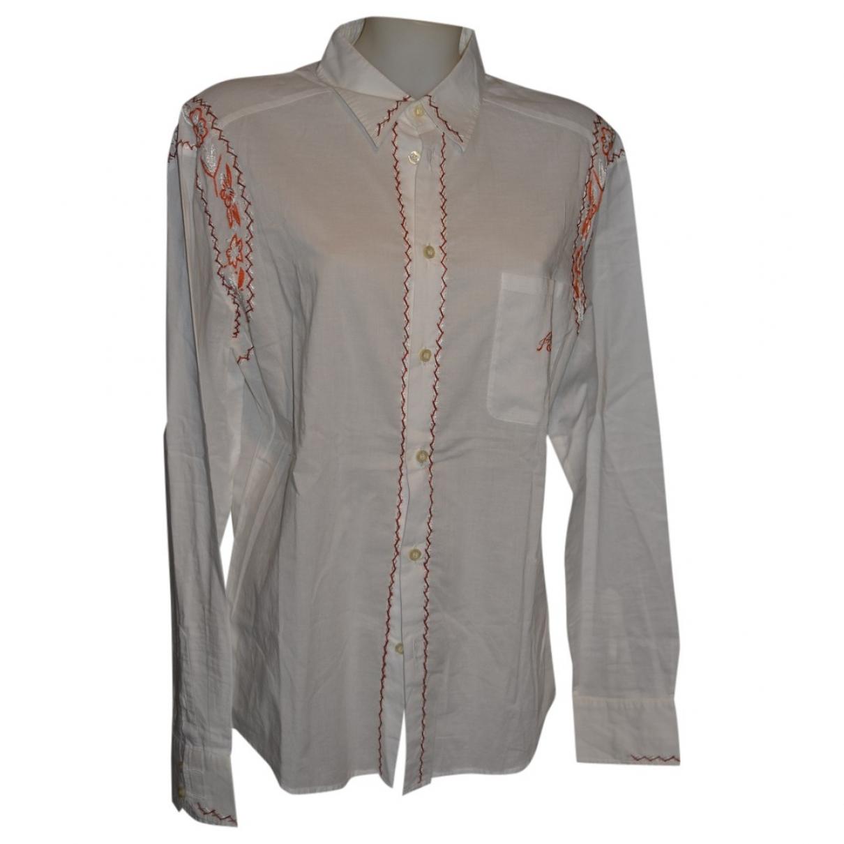 Class Cavalli - Top   pour femme en coton - blanc