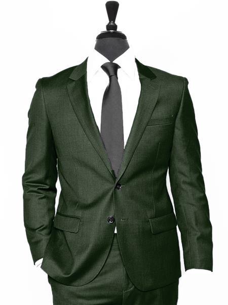 Coming 2018 Notch Lapel Alberto Nardoni Suit