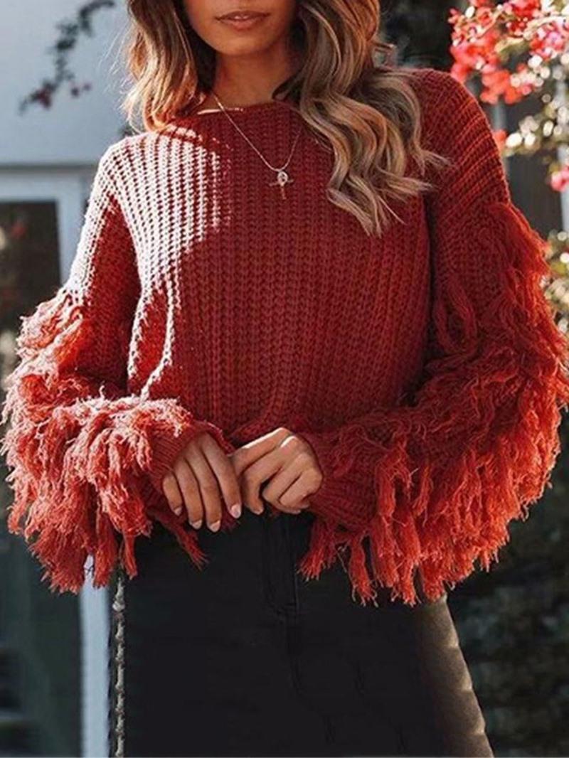 Ericdress Regular Thick Fall Short Sweater