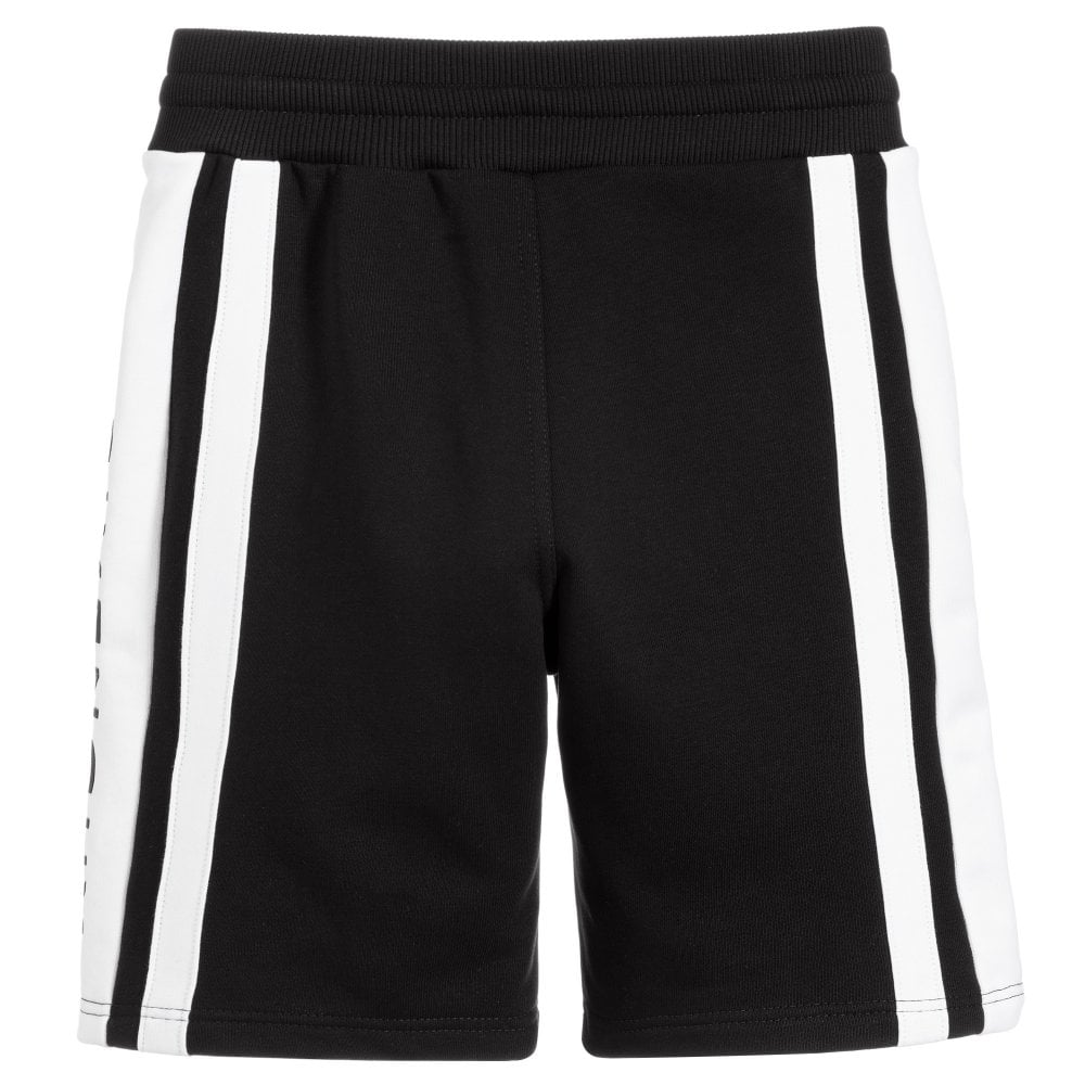 Givenchy Kids Bermuda Logo Shorts Colour: BLACK, Size: 8 YEARS