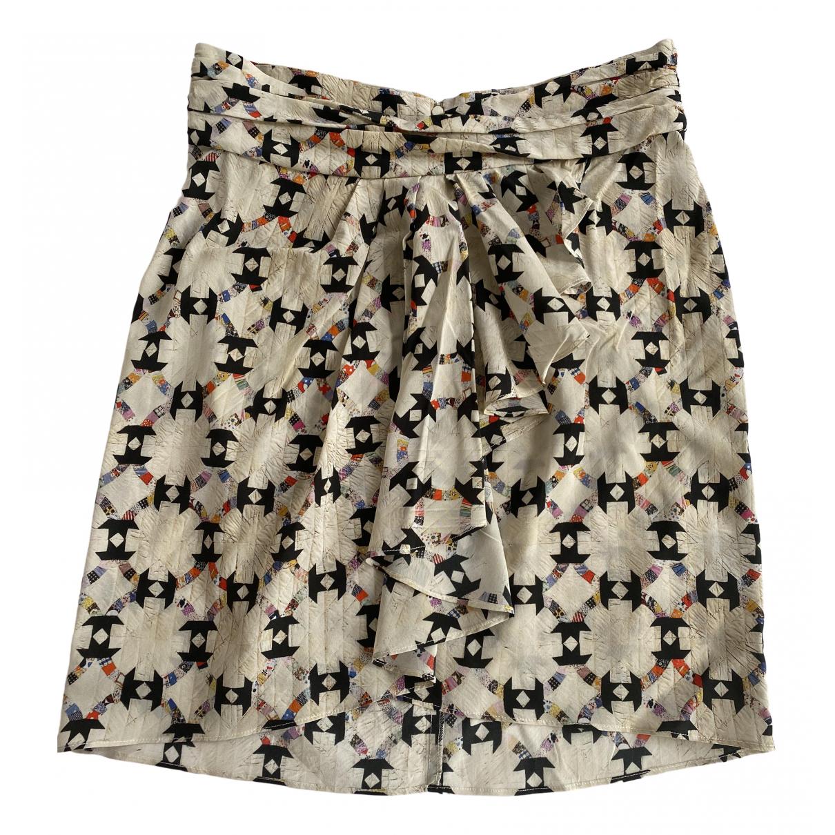 Isabel Marant N Ecru Silk skirt for Women 40 FR
