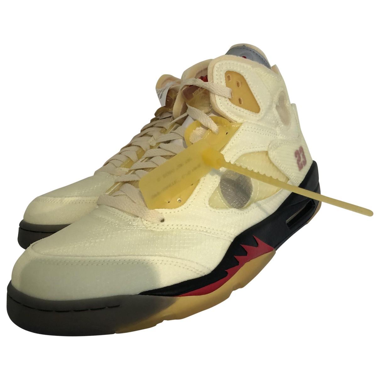 Jordan - Baskets Air Jordan 5 pour homme en cuir