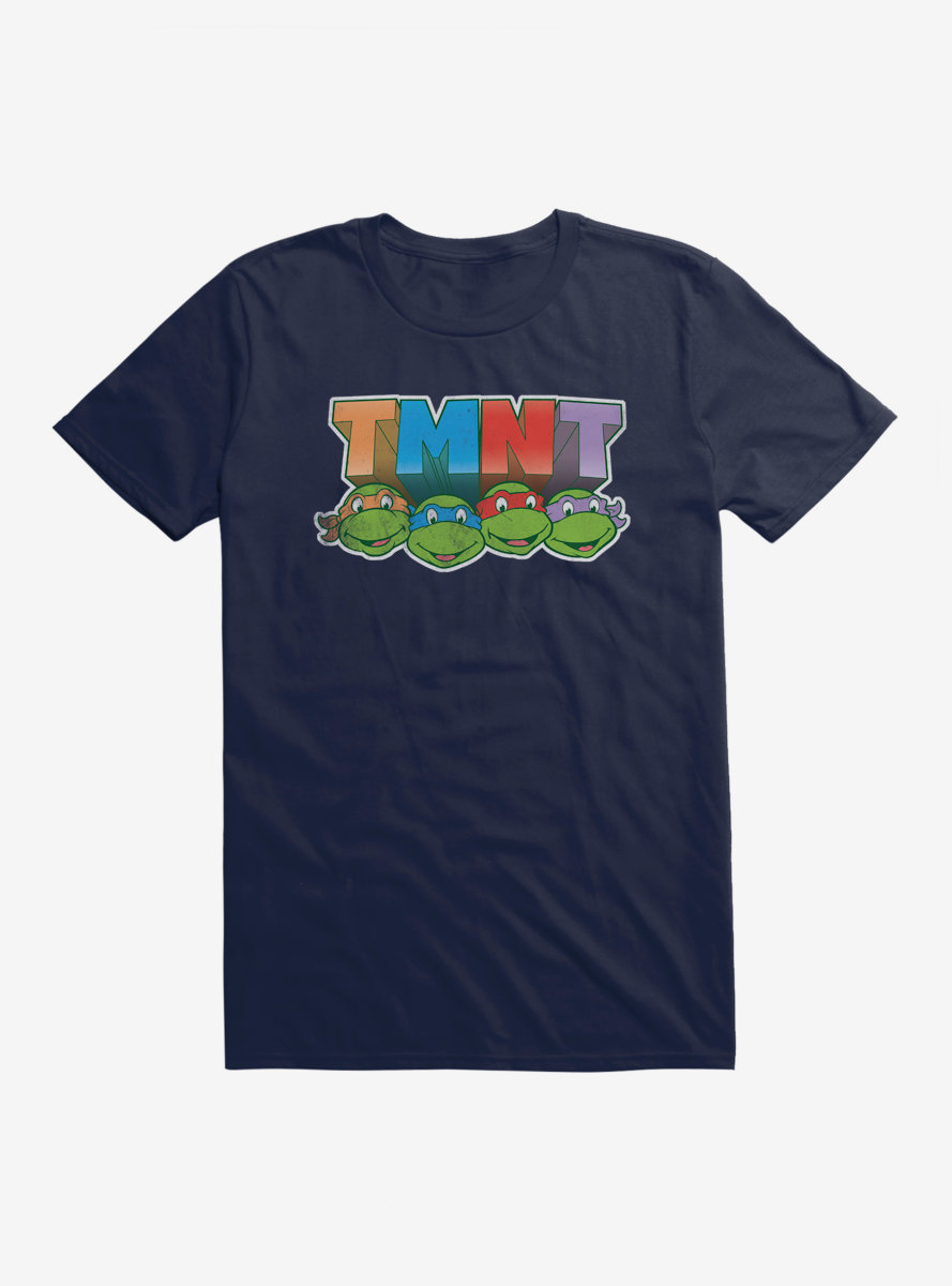 Teenage Mutant Ninja Turtles Acronym Block Letters T-Shirt
