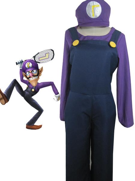 Milanoo Halloween Traje para cosplay de Super Mario Bros
