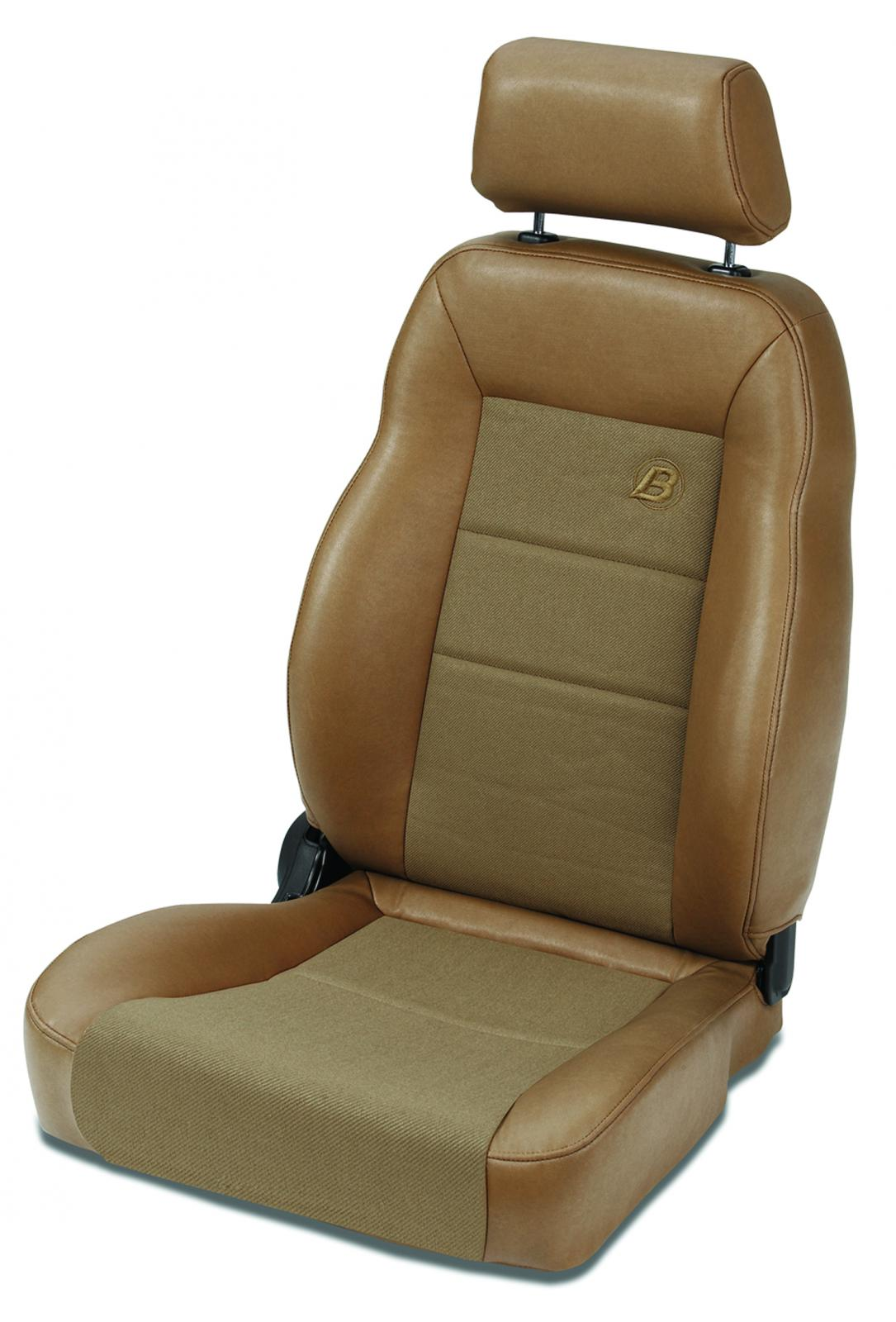 Bestop 39460-37 Fabric Spice Front Passenger Side Trailmax II Pro Front Seat Jeep CJ-7   Wrangler YJ 1976-2006
