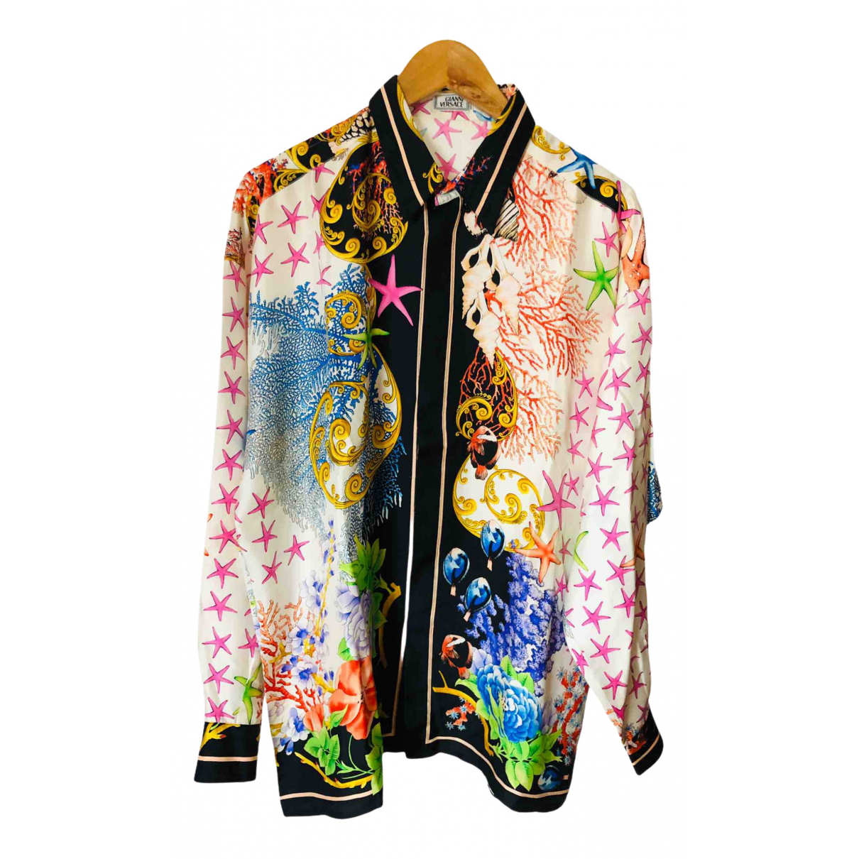 Gianni Versace \N Multicolour Silk Shirts for Men L International