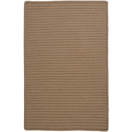 Colonial Mills Nantucket Reversible Braided Indoor/Outdoor Rectangular Rug, One Size , White