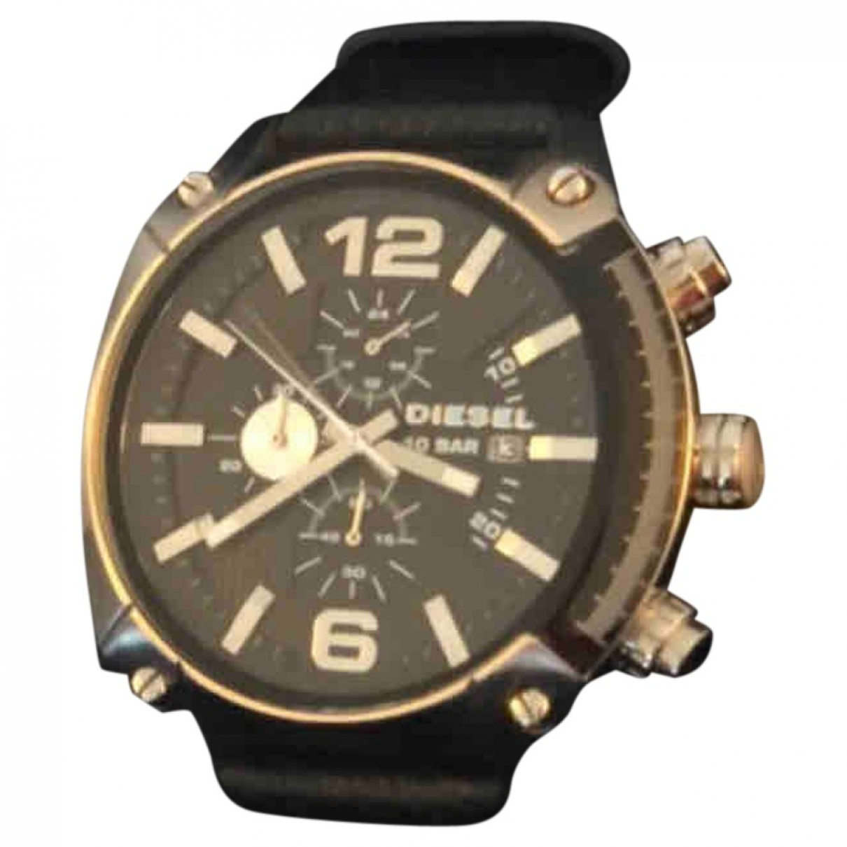 Diesel \N Black Steel watch for Women \N