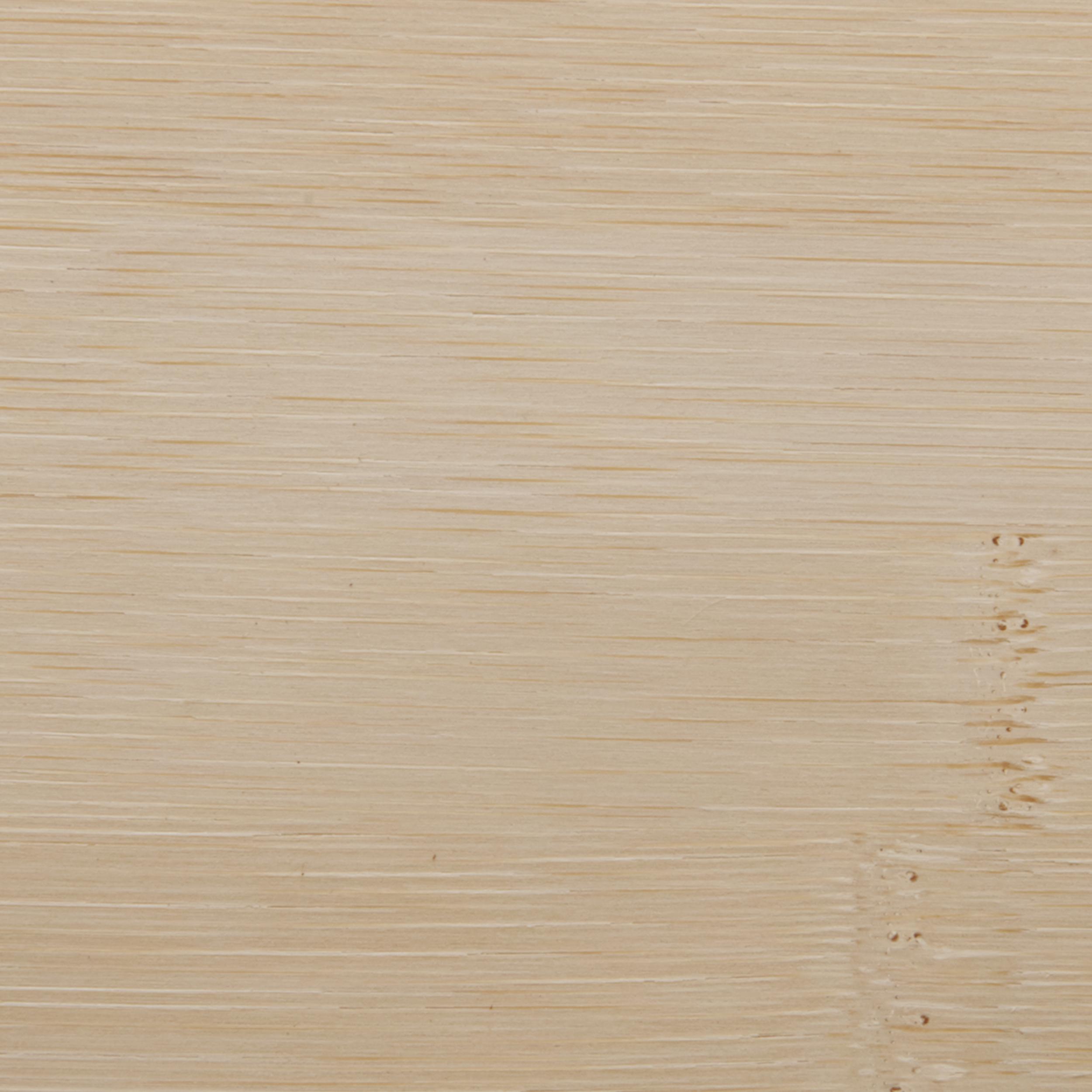Bamboo Veneer Sheet White Horizontal Grain 4' x 8' 2-Ply Wood on Wood