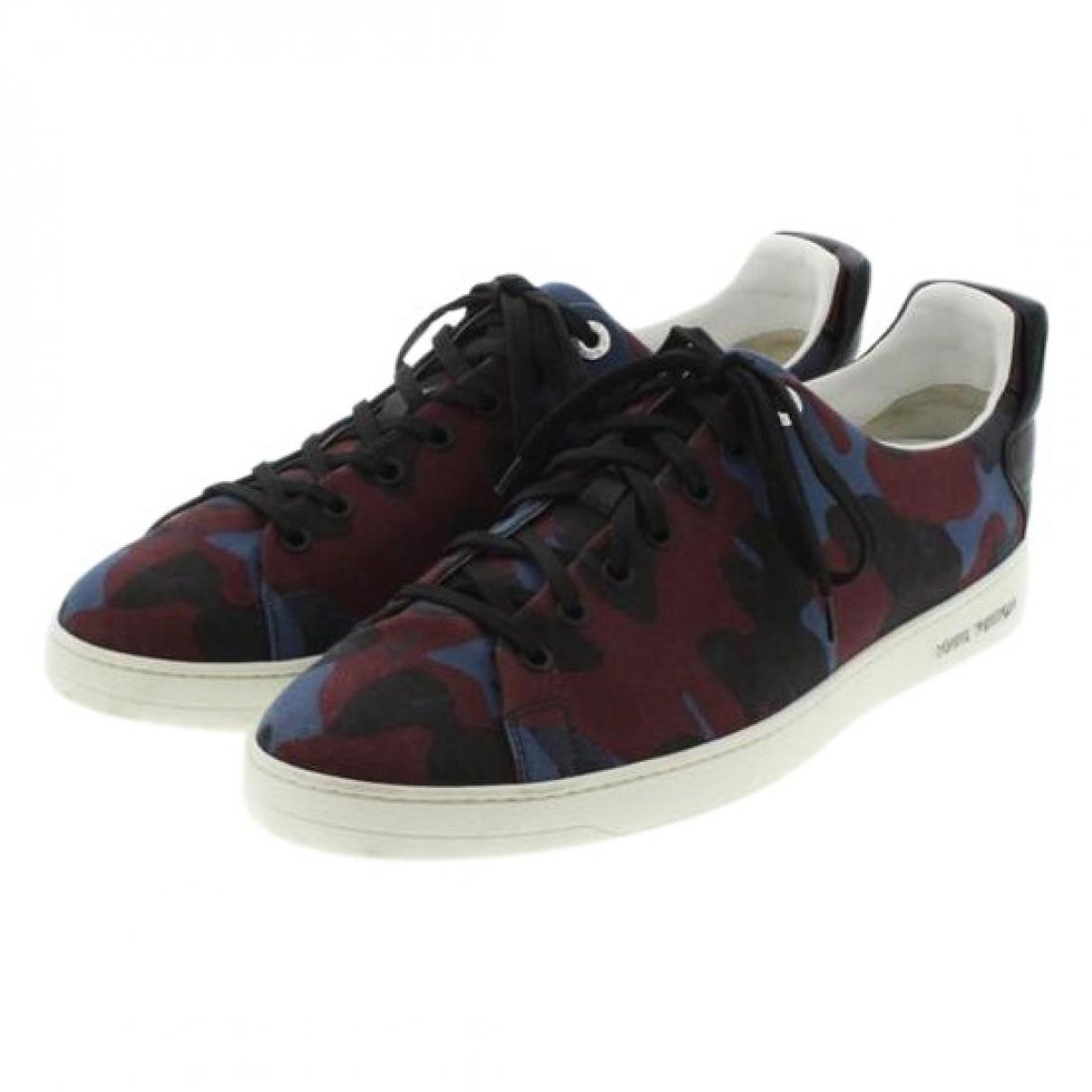 Louis Vuitton \N Blue Cloth Trainers for Men 9 US