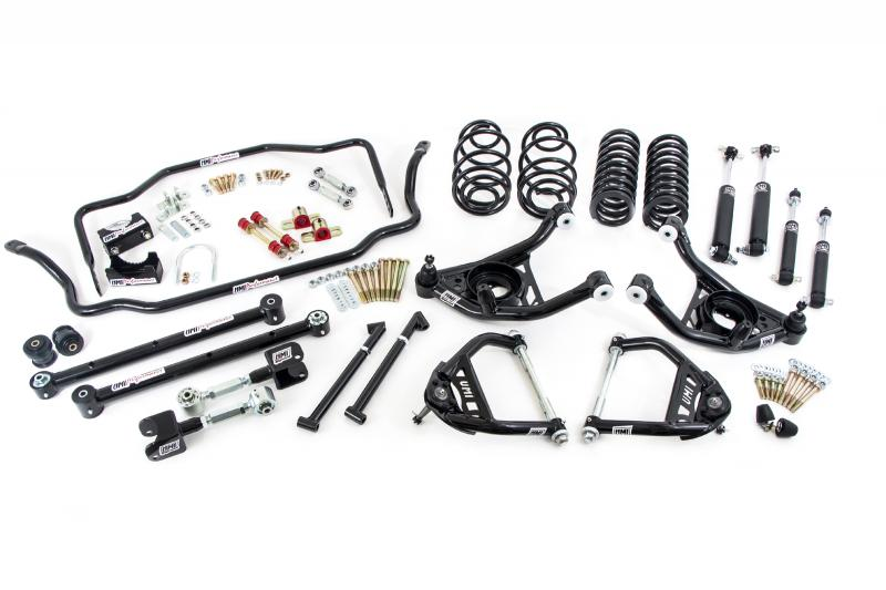 """UMI Performance ABF406-67-2-B 1967 GM A-Body Handling Package, 2"""" Lowering- Stage 3.5"""