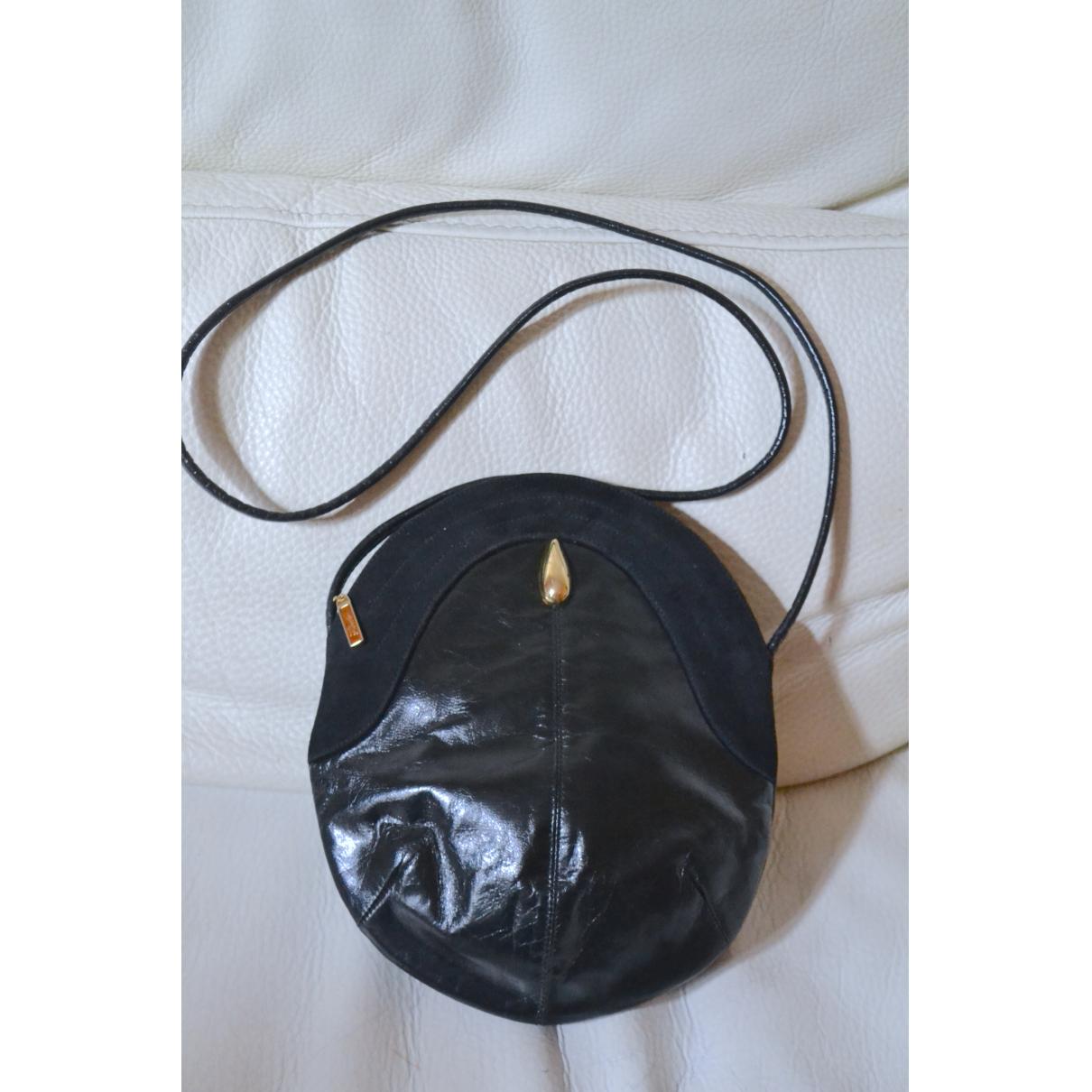Rodo - Sac a main   pour femme en cuir - noir