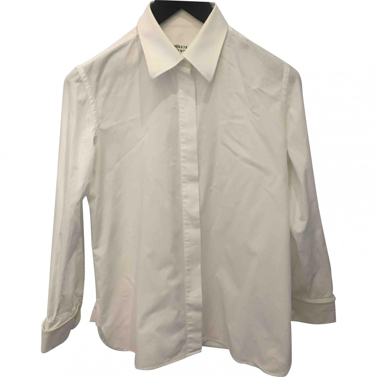Maison Martin Margiela - Top   pour femme en coton - blanc