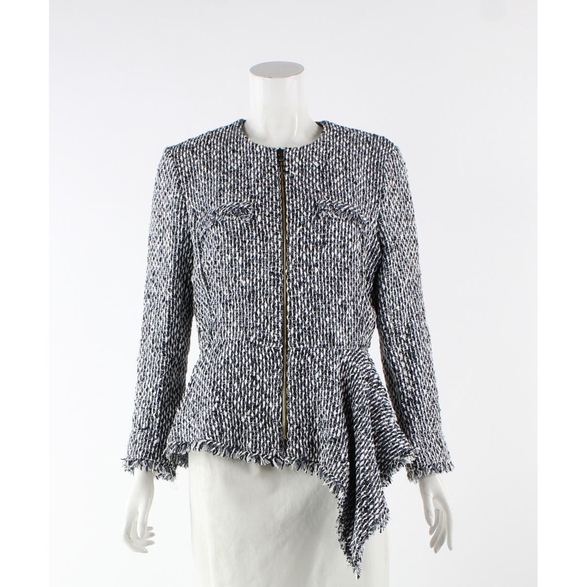 Roland Mouret - Veste   pour femme en coton - blanc