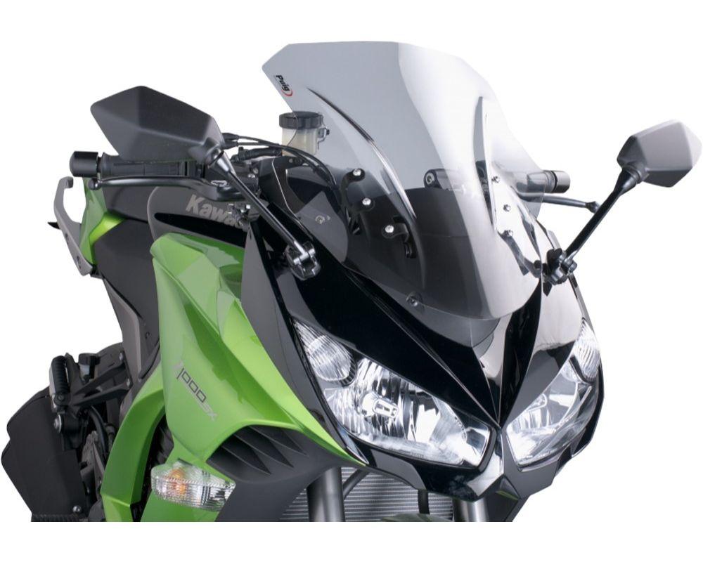 Puig 5606W Racing Windscreen - Clear Kawasaki Ninja 1000 2011