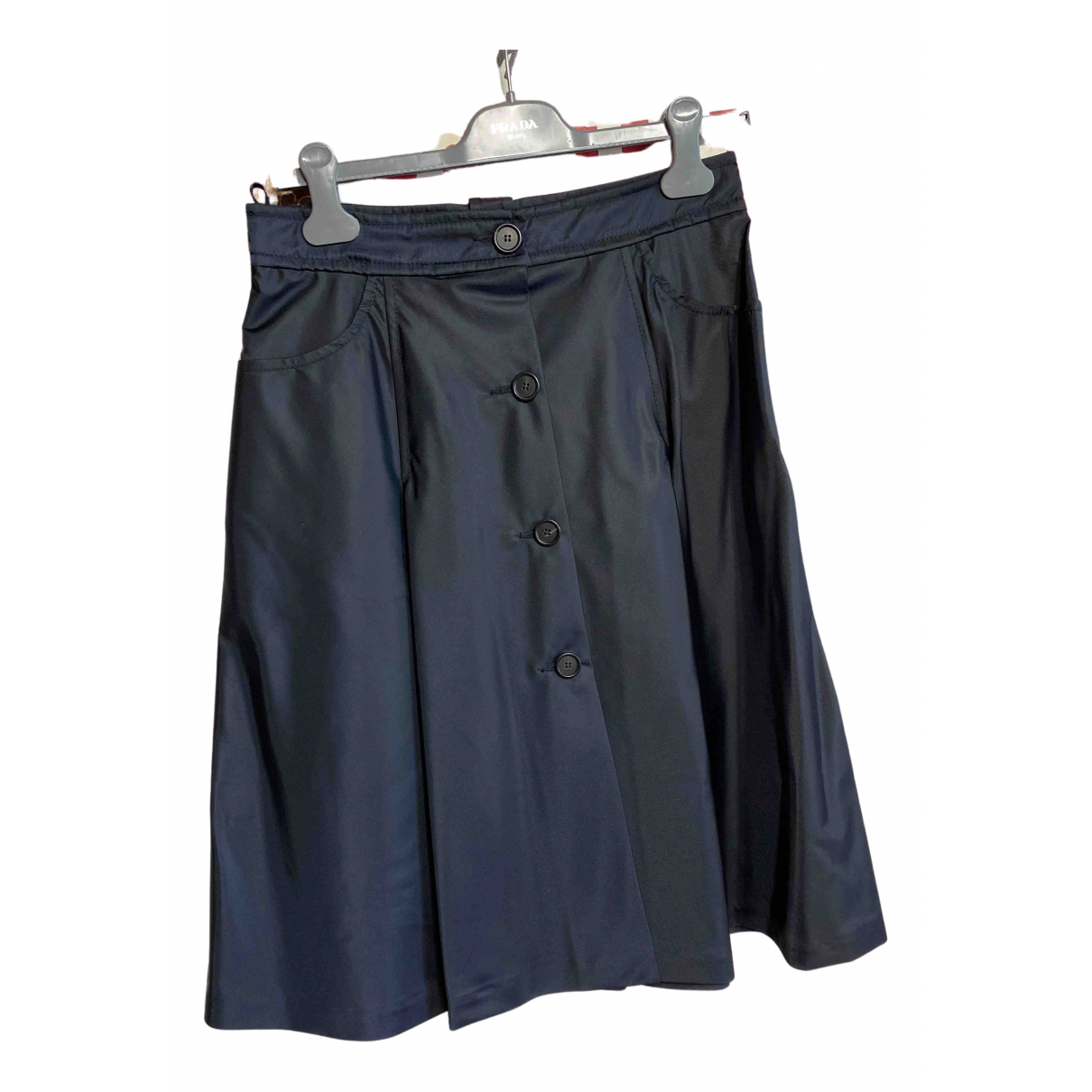 Prada N Blue skirt for Women 44 IT