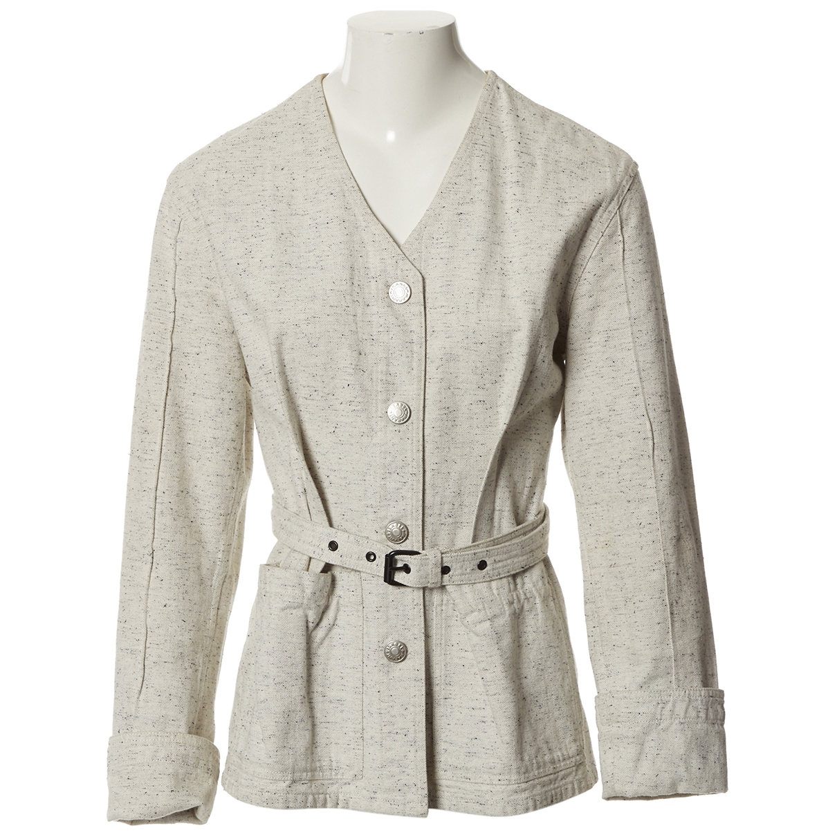 Isabel Marant \N Grey Cotton jacket for Women 34 FR