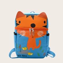 Kids Cartoon Graphic Backpack