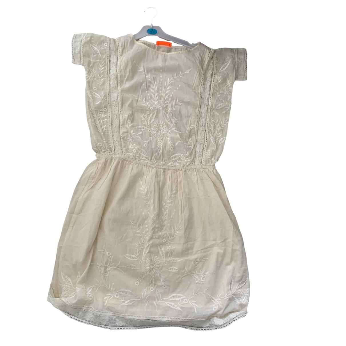 Ba&sh \N Kleid in  Beige Baumwolle