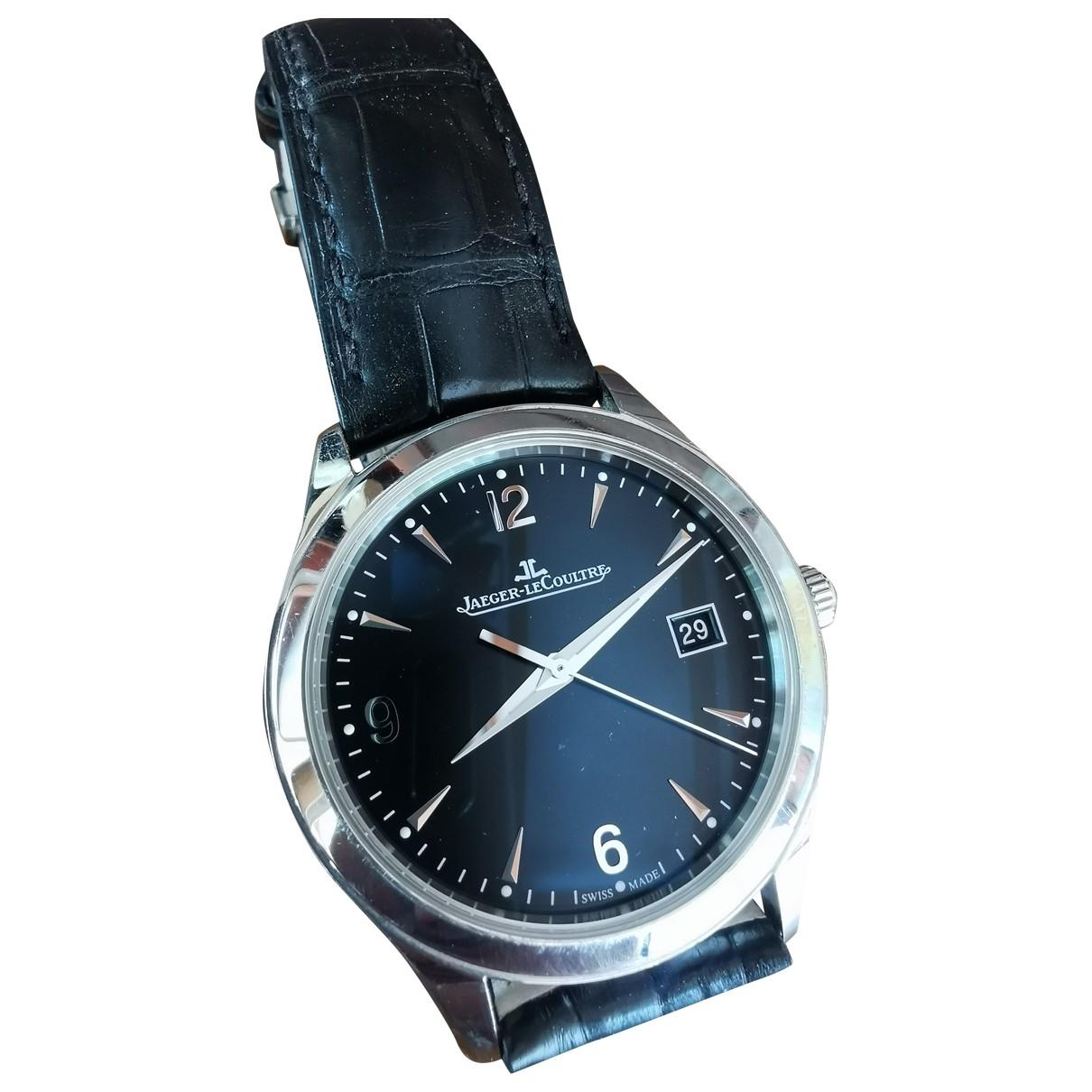 Jaeger-lecoultre Master Control  Uhr in  Anthrazit Stahl