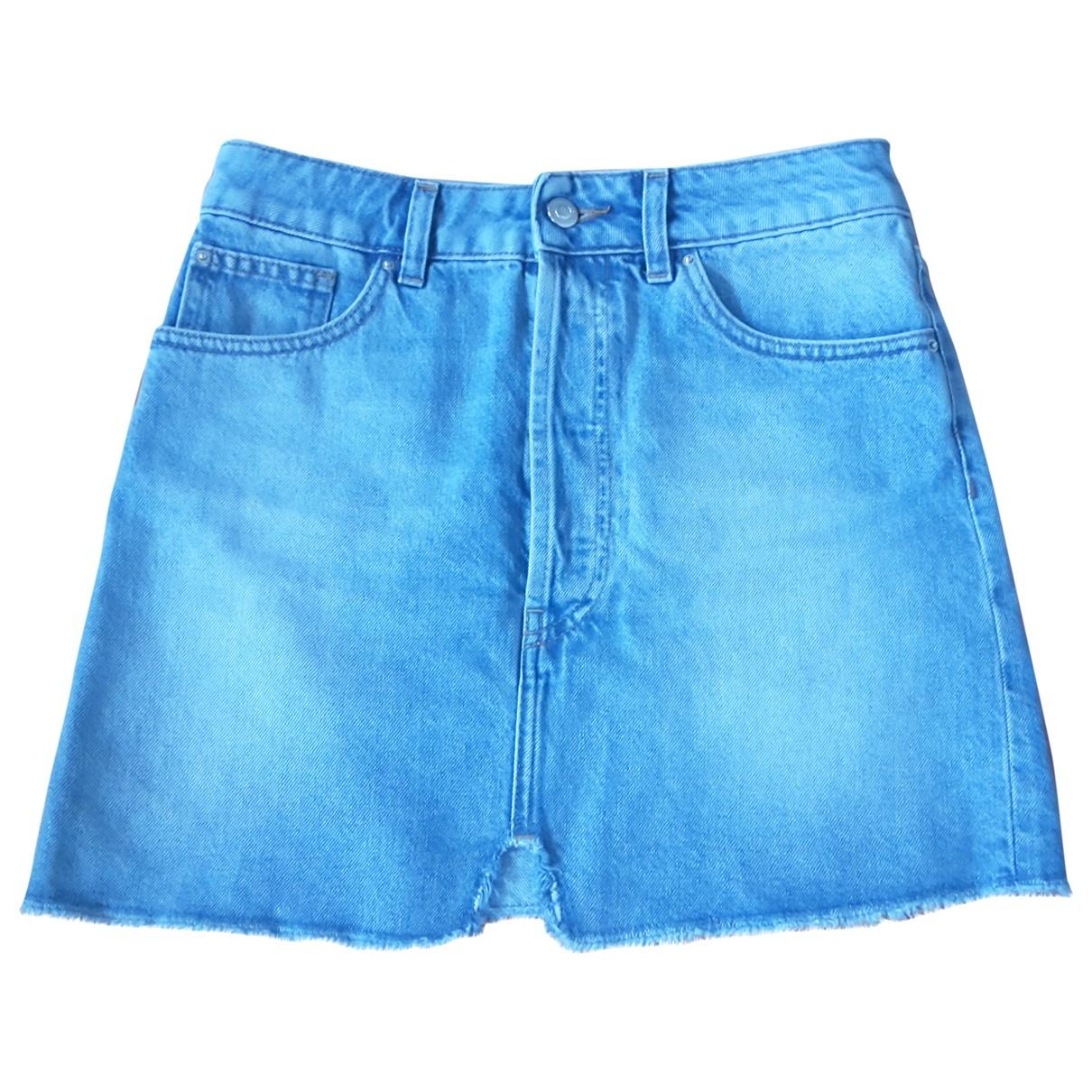 Iro Spring Summer 2019 Rocke in  Blau Denim - Jeans