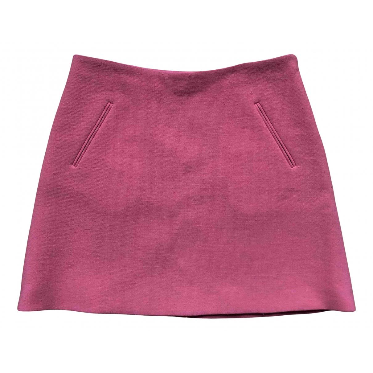 Marni \N Rocke in  Rosa Wolle